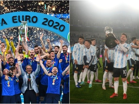 Argentina and Italy to face off in the 'Finalissima' in June of 2022