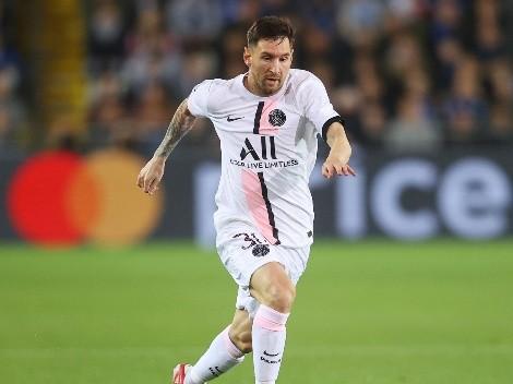 De pie, señores: Messi, titular frente a Manchester City