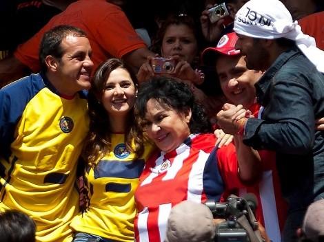 Carmen Salinas explota contra Televisa por dejarla plantada en el América contra Chivas