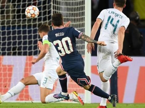 Carrera, pared de lujo y al ángulo para el primer gol de Messi en el PSG