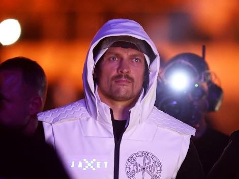 Oleksandr Usyk aclaró si quiere revancha con Joshua o enfrentar al ganador de Fury vs Wilder