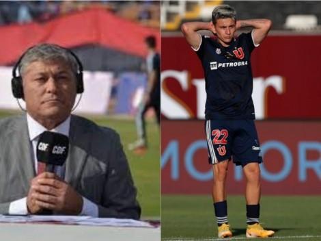 """Pato Yáñez criticó el nivel de Pablo Aránguiz en la U: """"Es intrascendente"""""""