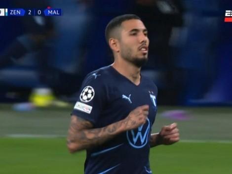 Siempre es bueno sumar minutos: Sergio Peña debutó en la Champions League con el Malmo