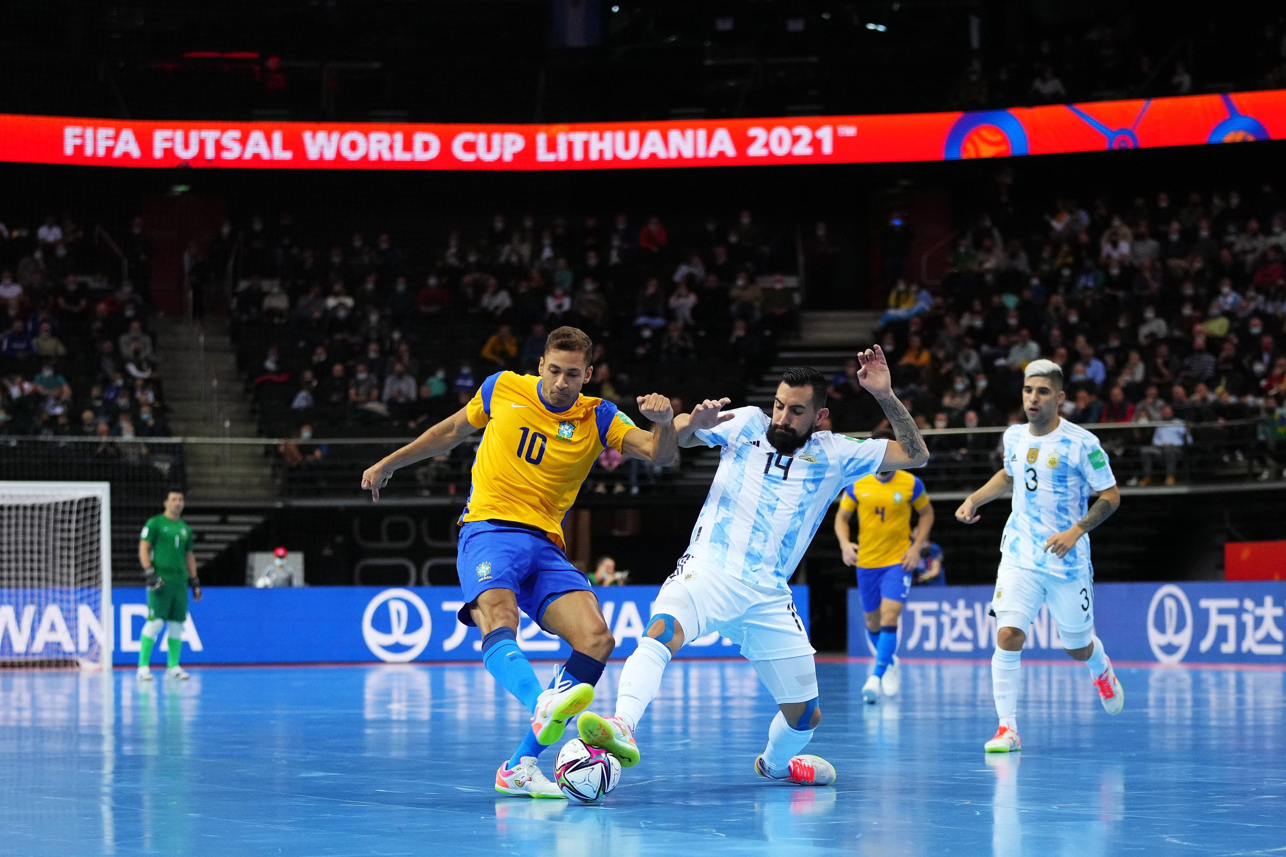 Argentina eliminó a Brasil y defenderá el título en el Mundial de Futsal