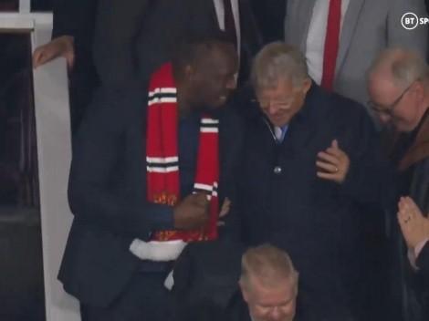 Video: Usain Bolt y Sir Alex Ferguson vibraron con el agónico gol de Cristiano Ronaldo