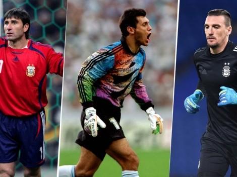 Boca y River: los arqueros que jugaron para la Selección Argentina