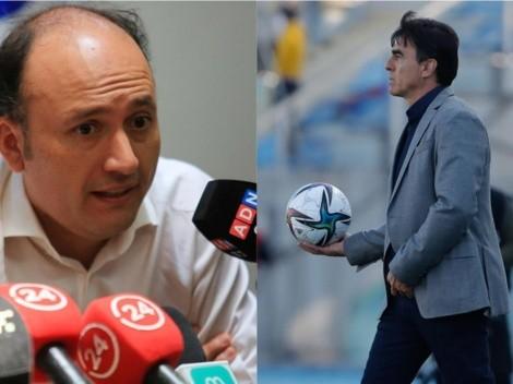 Valladares habla sobre la renovación de Gustavo Quinteros en Colo Colo