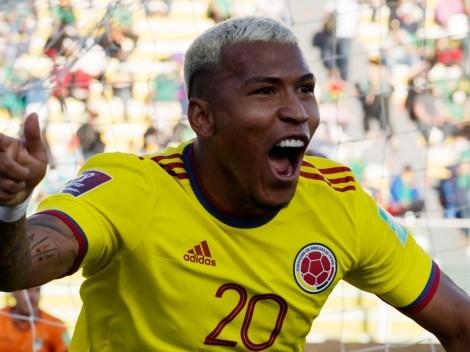 Roger Martínez otra vez convocado por Colombia
