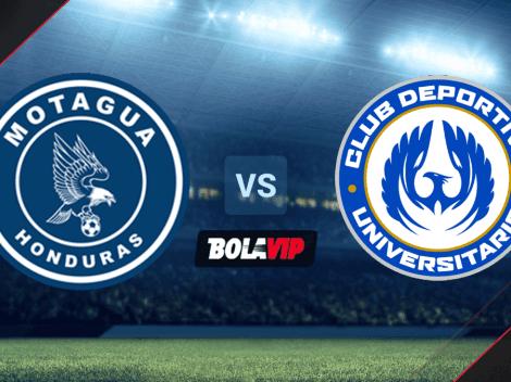 VER HOY | Motagua vs. Universitario EN VIVO por la Liga Concacaf 2021 | Octavos de Final Vuelta | Horario y canal de TV