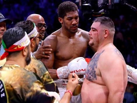 Andy Ruiz dijo que vio asustado a Anthony Joshua en su pelea contra Usyk