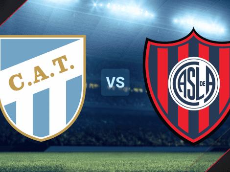 RESERVA | Atlético Tucumán vs. San Lorenzo EN VIVO por el Torneo de Reserva: hora, TV y streaming ONLINE