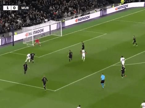 VIDEO: golazo de Lo Celso en la Conference League para el Tottenham