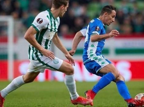 Andrés Guardado ve cerca el final de sus partidos en torneos UEFA