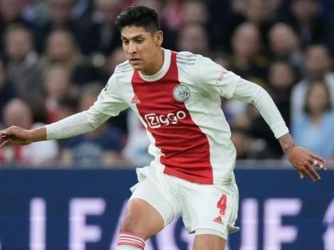 Edson Álvarez podría acompañar a CR7 en el Manchester United