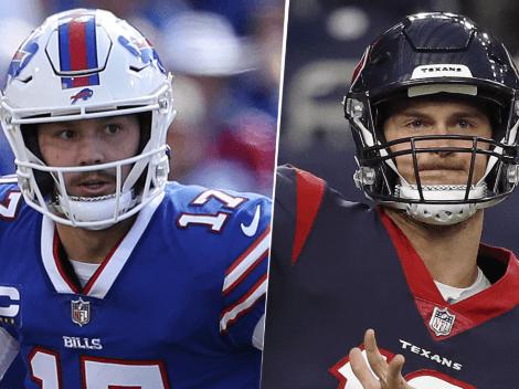 EN VIVO: Buffalo Bills vs. Houston Texans | Pronóstico, horario, streaming y canal de TV para ver EN DIRECTO ONLINE la Semana 4 de la NFL 2021