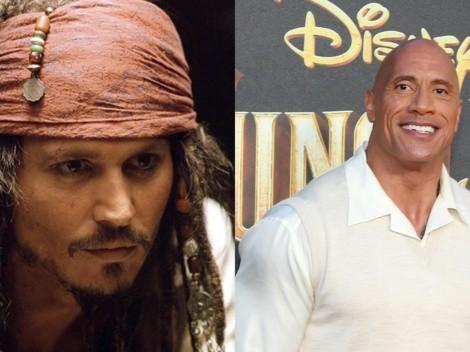 Johnny Deep, adiós: The Rock podría ser el próximo Jack Sparrow