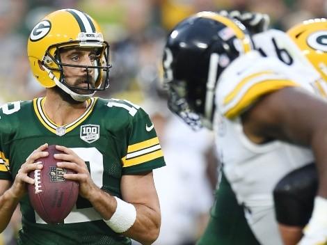 Aaron Rodgers abre la posibilidad de ir a Pittsburgh Steelers