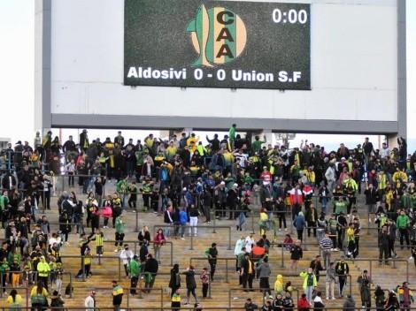 VIDEO: Así fue el recibimiento en Aldosivi vs. Unión, el primer partido con hinchas
