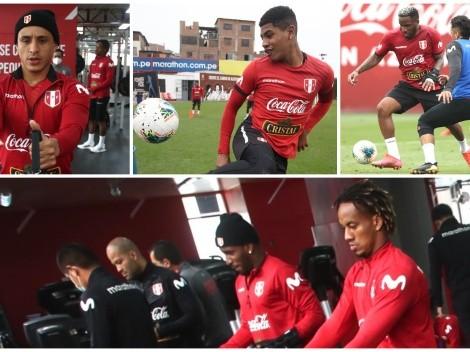 Carrillo, Cartagena y Yotún se sumaron a los entrenamientos de la Selección Peruana