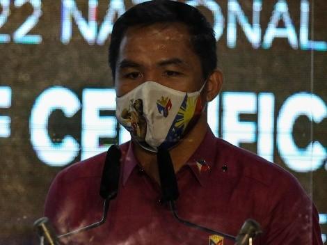 Manny Pacquiao confirmó que va por la presidencia de Filipinas