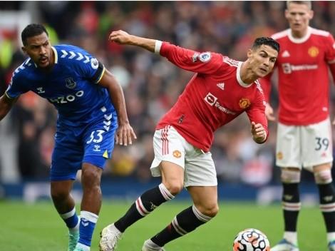 Ni Cristiano lo pudo salvar: Manchester United no sale del empate ante Everton