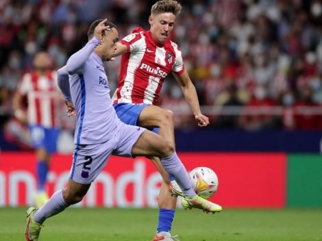 Barcelona y Sergiño Dest sufren una dura derrota ante Atlético Madrid