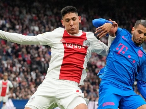 Edson cumplió, pero Ajax cayó con FC Ultretch