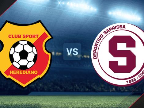 VER EN VIVO C. S. Herediano vs. Saprissa por la Liga Promérica de Costa Rica: Hora y canal de TV