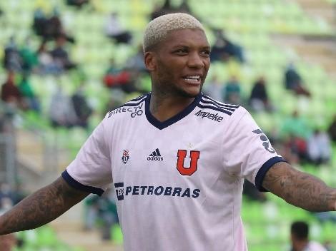 Junior Fernandes abandona por lesión el partido de la U