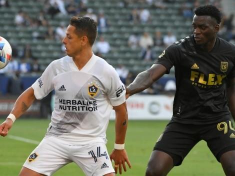 Chicharito Hernández y LA Galaxy empataron en el clásico con Los Angeles FC