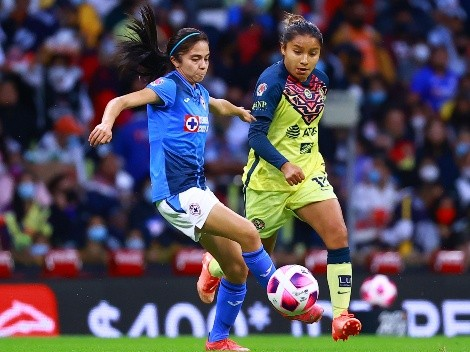 Cruz Azul no lo logra y cae vs América en el Clásico Joven Femenil