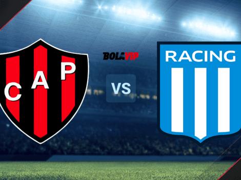 A qué hora juegan Patronato vs. Racing Club: canales de TV y streaming para VER EN DIRECTO el duelo por la Liga Profesional