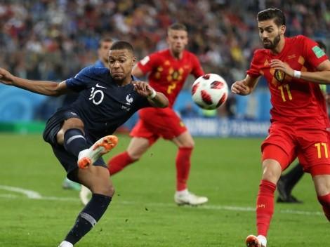 Los onces confirmados para Bélgica vs. Francia