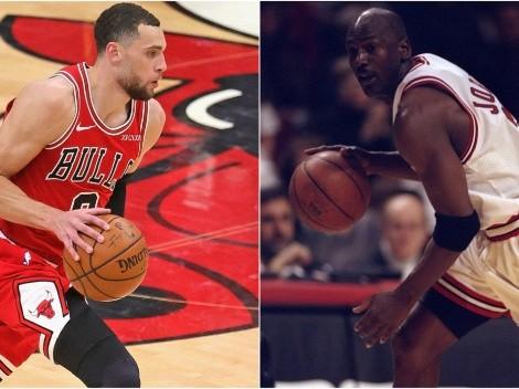 A Jordan no le gusta esto: Zach LaVine y la jugada de la que todos hablan en Bulls