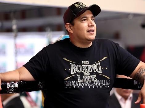 Eddy Reynoso volvió a marcarle el ring a los detractores de Canelo Álvarez