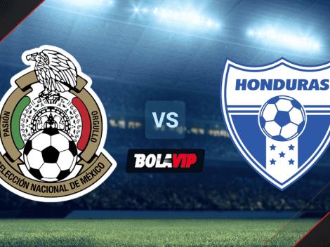 A qué hora juegan México vs. Honduras por el Octagonal Final de las Eliminatoria Concacaf HOY   Canal de TV para VER EN DIRECTO