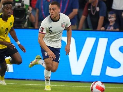 Sergiño Dest vuelve a lesionarse con Estados Unidos