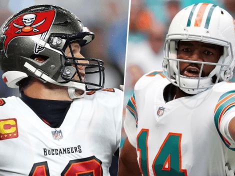 EN VIVO: Tampa Bay Buccaneers vs. Miami Dolphins   Pronóstico, horario, streaming y canal de TV para ver EN DIRECTO ONLINE la Semana 5 de la NFL 2021
