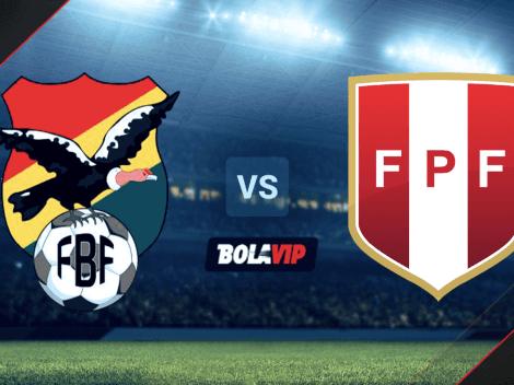 Cómo VER Bolivia vs. Perú HOY por las Eliminatorias Sudamericanas: hora y canal de TV para seguir el duelo EN DIRECTO