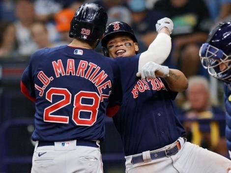 Boston Red Sox igualó la Serie Divisional con un recital de jonrones ante Tampa Bay Rays