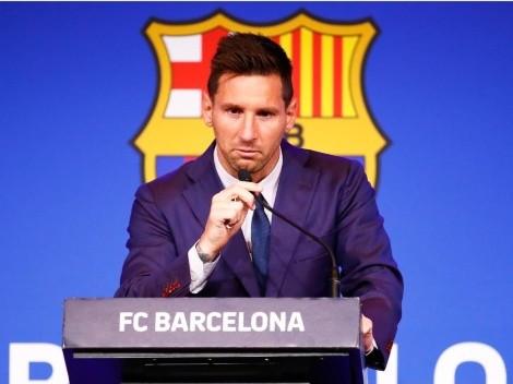 Messi explica todo sobre su salida de Barcelona