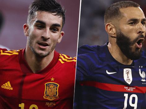EN VIVO: España vs. Francia por la UEFA Nations League