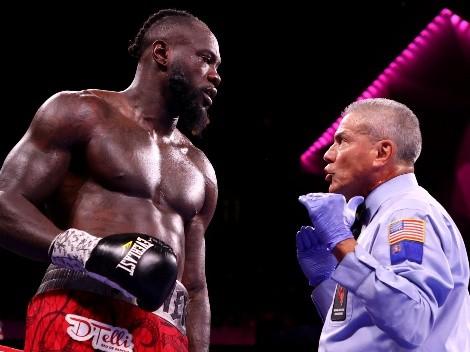 La decepción de Deontay Wilder por no haber podido tener desquite con Tyson Fury