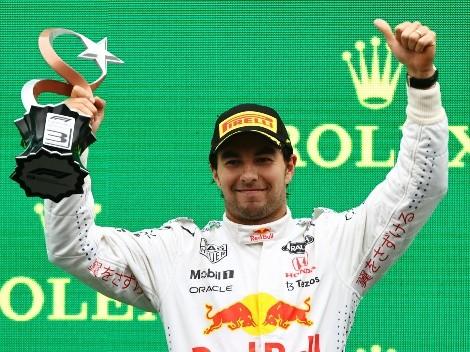 Checo volvió al podio en el GP de Turquía