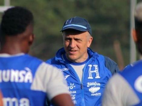 DT de Honduras confesó que buscarán el empate en el Azteca