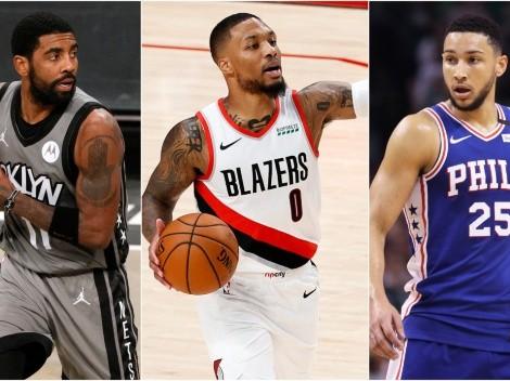 Kyrie Irving, Damian Lillard, Ben Simmons y el intercambio que rompería por completo la NBA