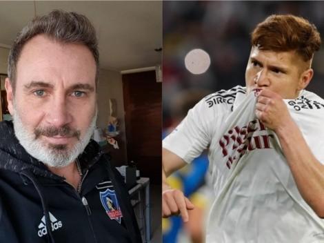 Barticciotto se disculpa por sus dichos tras el gol de Leonardo Gil
