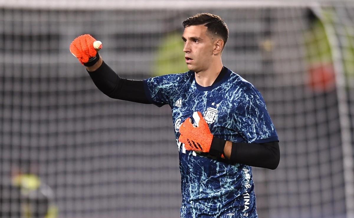 Te vas a emocionar: el posteo de Dibu Martínez tras la goleada ante Uruguay
