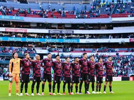 ¡A seguir así!: los futbolistas de la Selección Mexicana festejaron la victoria