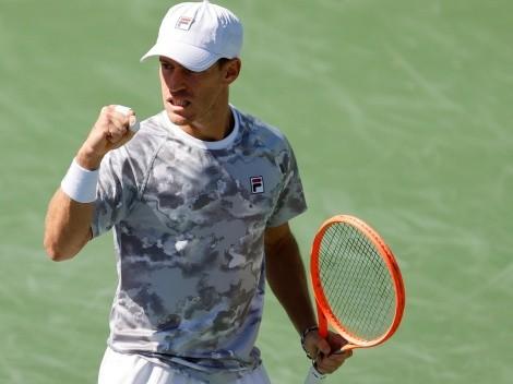 VER EN VIVO: Diego Schwartzman vs. Daniel Evans por la tercera ronda del Masters 1000 de Indian Wells: hora y canal de TV